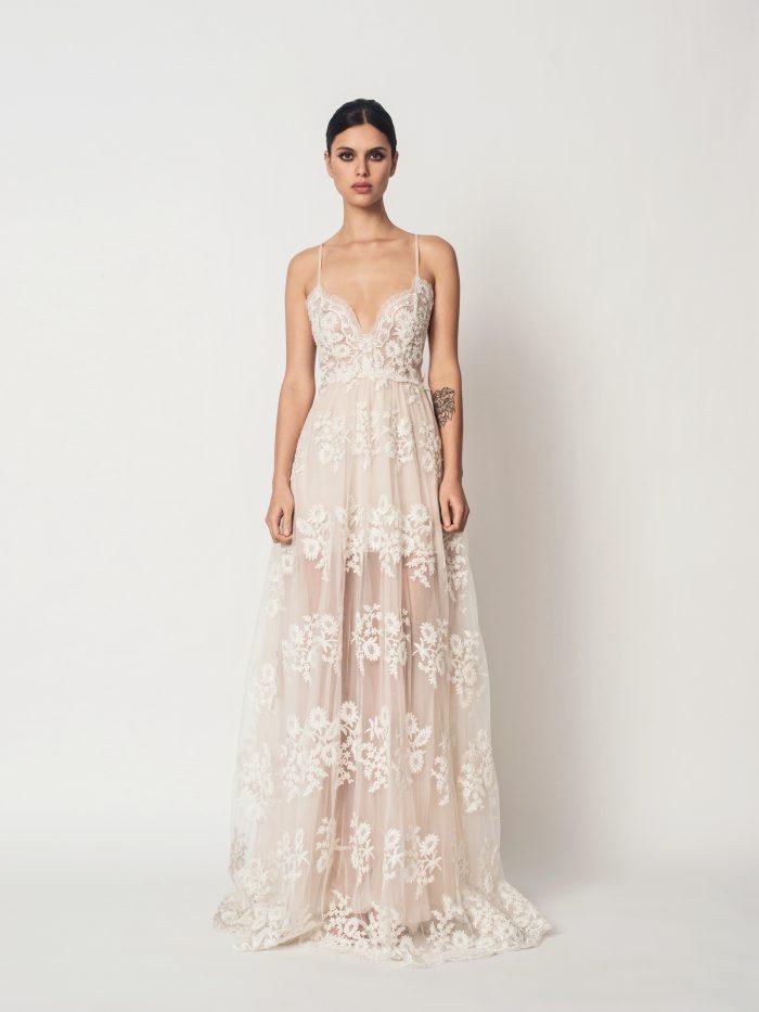 Suknia ślubna koronkowa Eloise