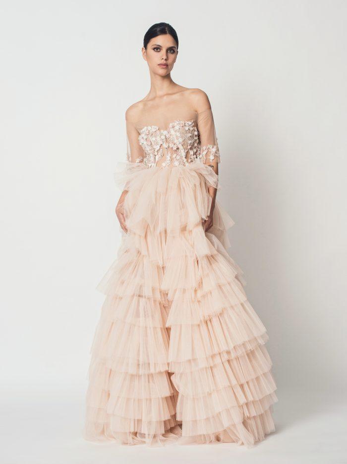 Suknia ślubna księżniczka Cecile