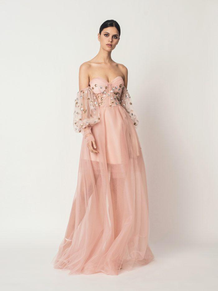 Suknia ślubna z długim rękawem Anabelle