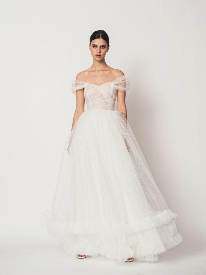 Suknia ślubna ksieżniczka Lydia